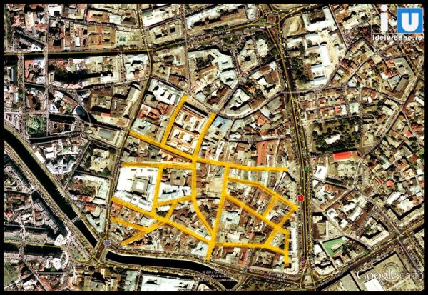 detaliu centru istoric bucuresti