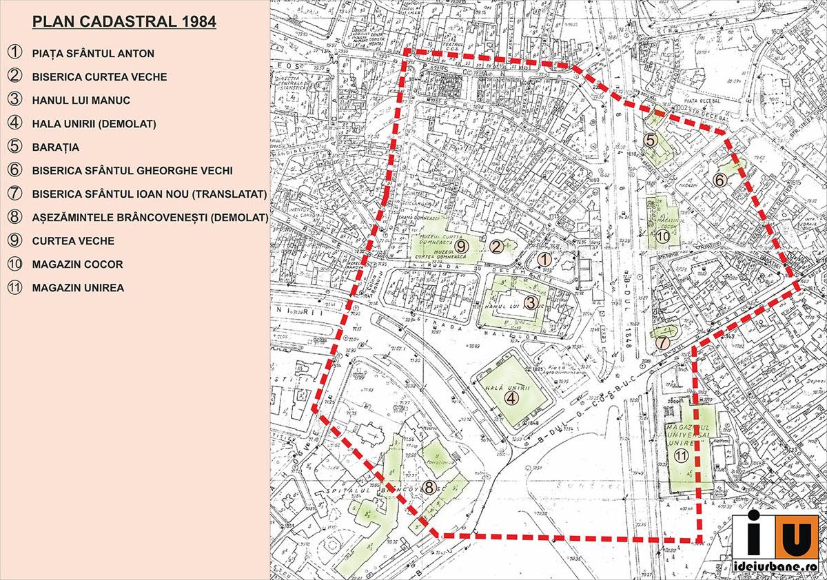 Idei Urbane Piața Sfantul Anton In Centrul Istoric